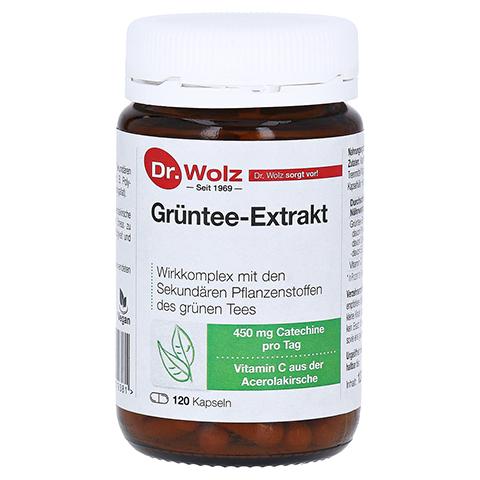 GRÜNTEE Extrakt Dr.Wolz Kapseln 120 Stück