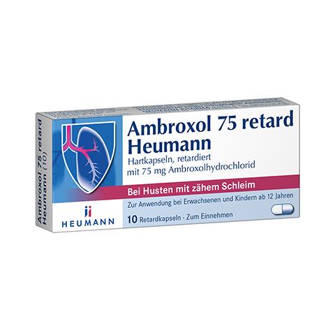 Ambroxol 75 retard Heumann 10 Stück
