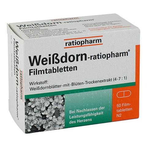 Weißdorn-ratiopharm 50 Stück N2
