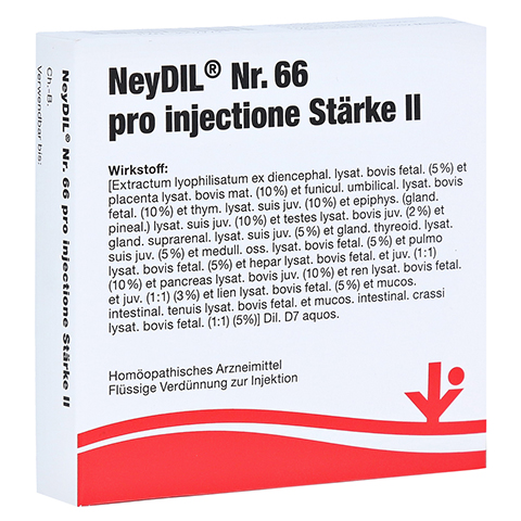 NEYDIL Nr.66 pro injectione St. II Ampullen 5x2 Milliliter N1