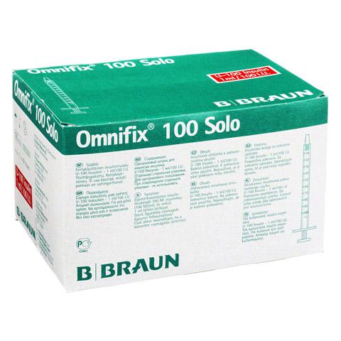 Omnifix Insulin Einm.Spr.f.U 100 Insulin 1 ml 100 Stück