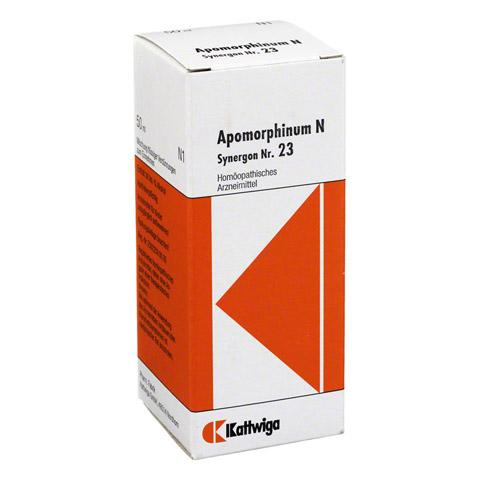 SYNERGON KOMPLEX 23 Apomorphinum N Tropfen 50 Milliliter N1