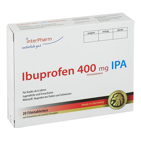 Ibuprofen 400mg IPA 20 Stück