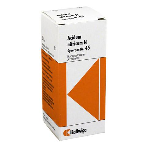 SYNERGON KOMPLEX 45 Acidum nitricum N Tropfen 50 Milliliter N1