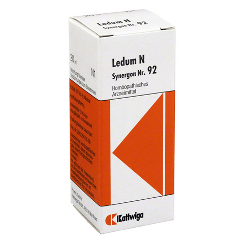SYNERGON KOMPLEX 92 Ledum N Tropfen 20 Milliliter