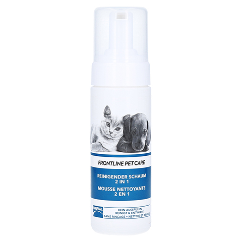 FRONTLINE PET CARE reinigender Schaum 2in1 vet. 150 Milliliter
