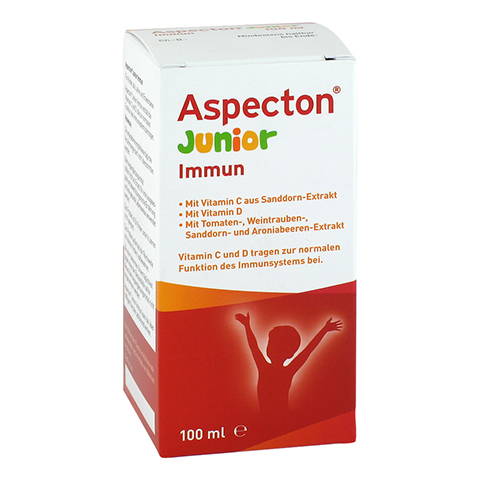 ASPECTON Junior Immun Suspension 100 Milliliter