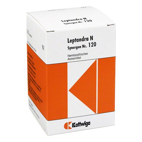 SYNERGON KOMPLEX 120 Leptandra N Tabletten 200 Stück