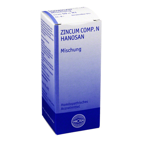 ZINCUM COMP.N Hanosan flüssig 50 Milliliter N1