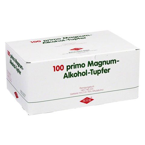 ALKOHOLTUPFER Primo Magnum 100 Stück