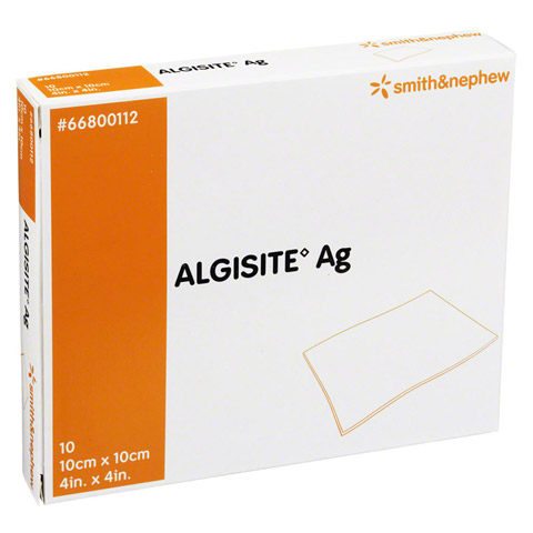 ALGISITE AG Kompressen 10x10 cm 10 Stück