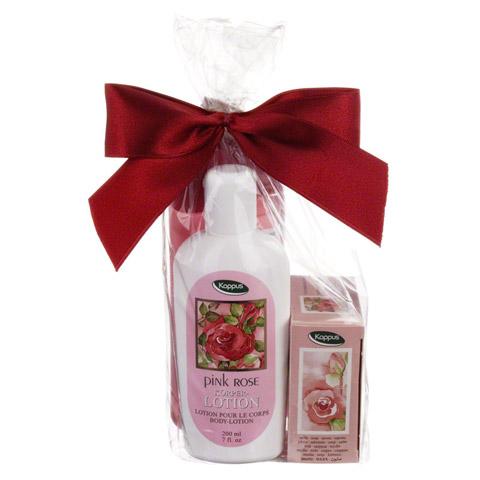 KAPPUS pink rose Geschenkpackung 1 Packung