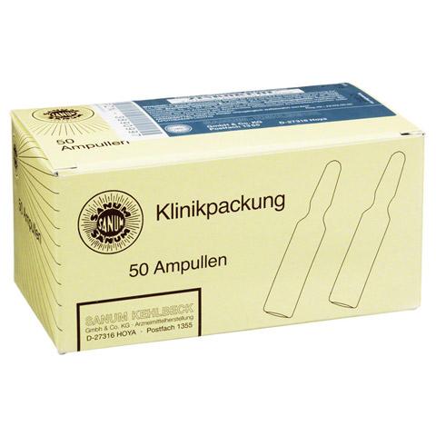 ZINKOKEHL Ampullen D 4 50x2 Milliliter N2