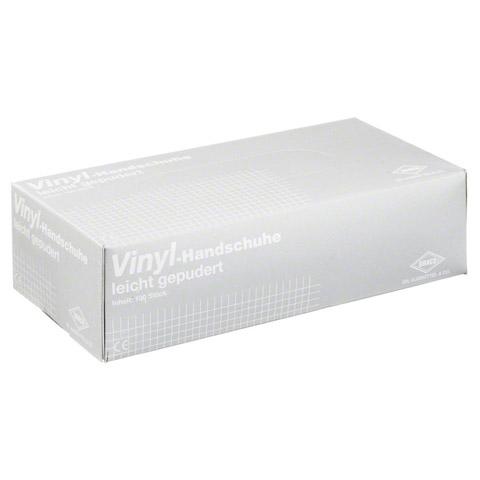 VINYL Handschuhe Einmal gepudert S 100 Stück