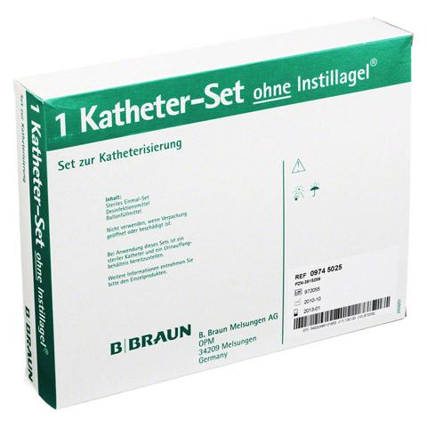 KATHETER Set ohne Instillagel 1 Packung