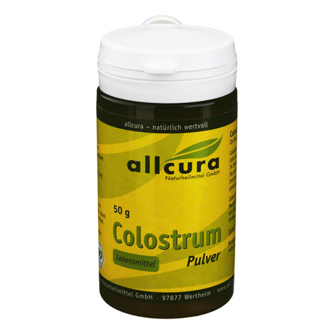 COLOSTRUM PULVER kbA 50 Gramm