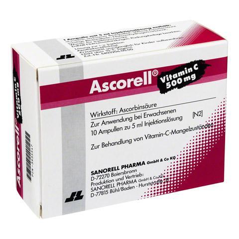 ASCORELL Injektionslösung 10x5 Milliliter N2