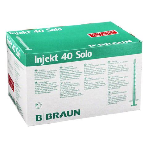 Insulin Injekt Solo 40 100x1 Milliliter