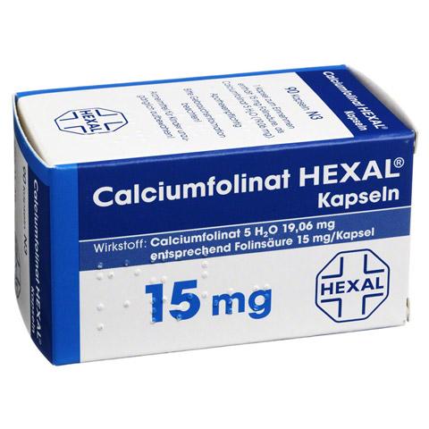 CALCIUMFOLINAT HEXAL Kapseln 15 mg 90 Stück