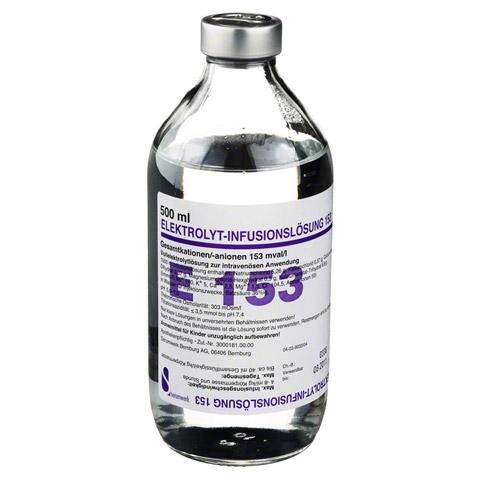 ELEKTROLYT Inf.-Lsg. 153 500 Milliliter N1