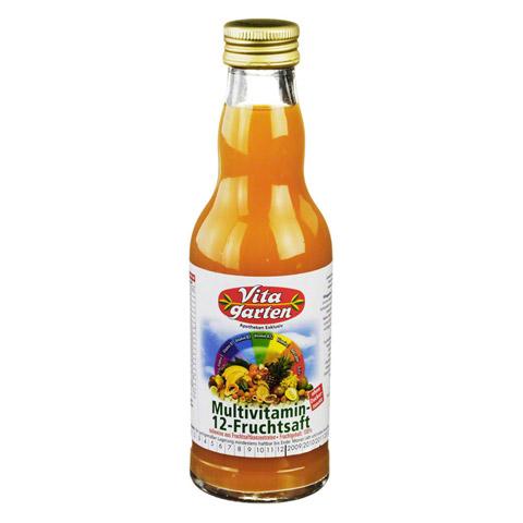 VITAGARTEN 12-Frucht-Multi-Saft Einwegflasche 200 Milliliter