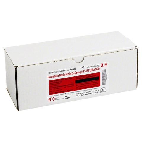 ISOTONISCHE NaCl Lösung 0,9% Eifelfango 10x100 Milliliter N2