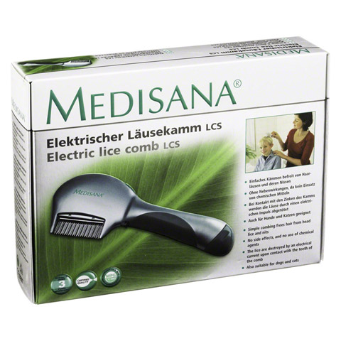 MEDISANA elektrischer Läusekamm LCS 1 Stück
