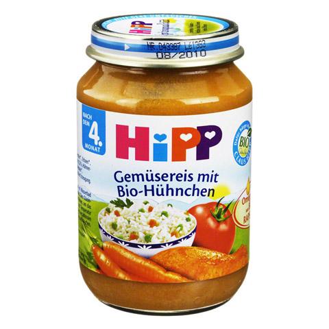 HIPP Menü n.d.4 Mon.Gemüsereis m.Bio Hühnchen 190 Gramm