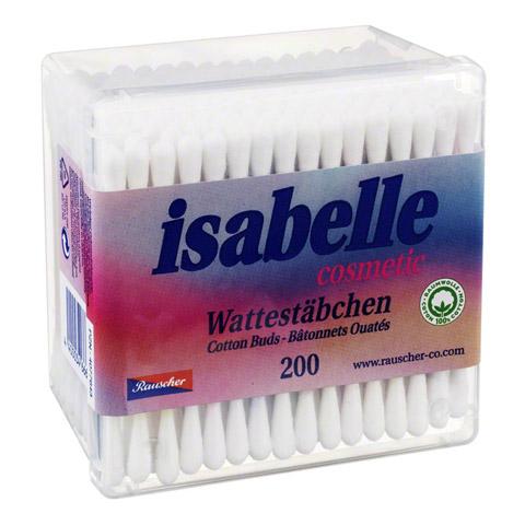 WATTESTÄBCHEN Isabelle 200 Stück