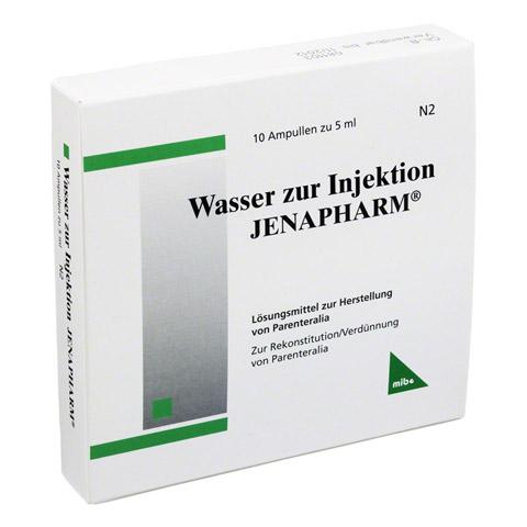 WASSER zur Injektion Jenapharm Ampullen 10x5 Milliliter N2