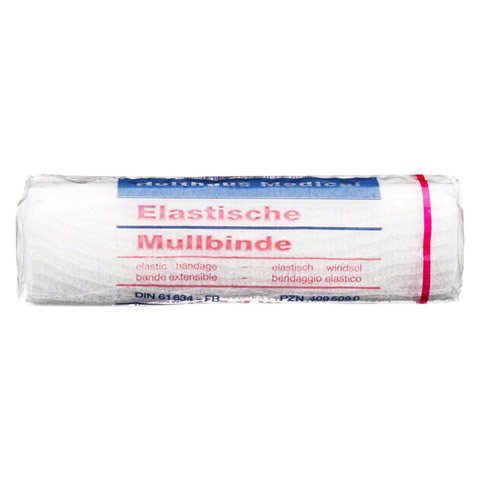 MULLBINDEN elastisch 12 cmx4 m 1 Stück
