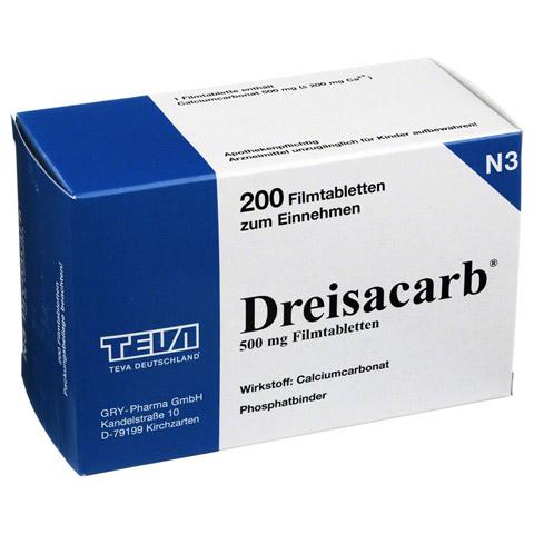 DREISACARB Filmtabletten 200 Stück N3