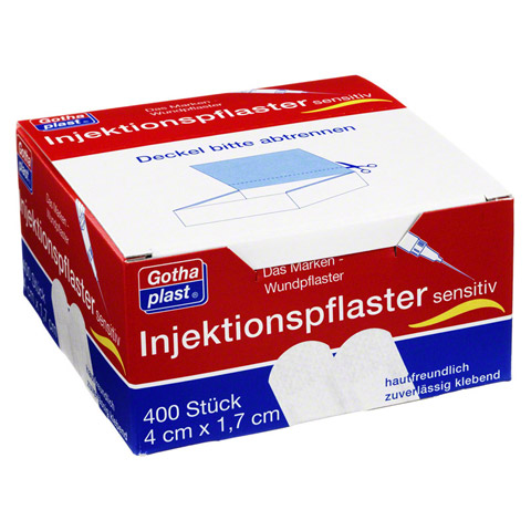 GOTHAPLAST Injektionspfl.sensitiv 1,7x4 cm 400 Stück
