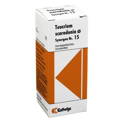 SYNERGON KOMPLEX 15 Teucrium Urtinktur 20 Milliliter