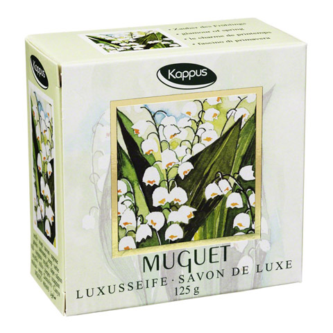 KAPPUS muguet lilly of the valley Seife 125 Gramm