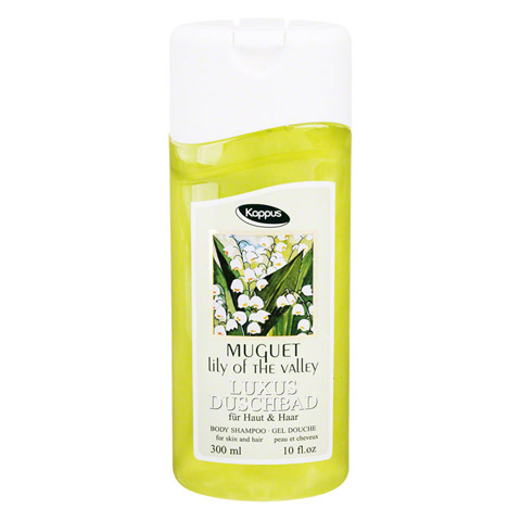 KAPPUS muguet lilly of the valley Duschbad 300 Milliliter