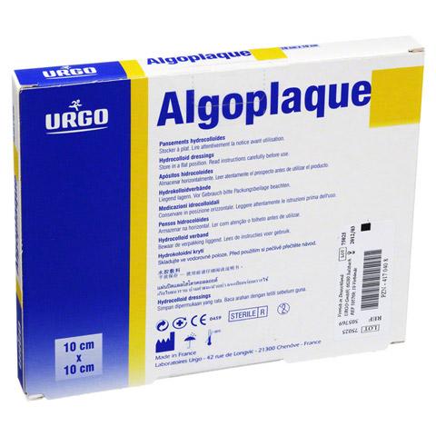 ALGOPLAQUE 10x10 cm flexib.Hydrokolloidverb. 10 Stück