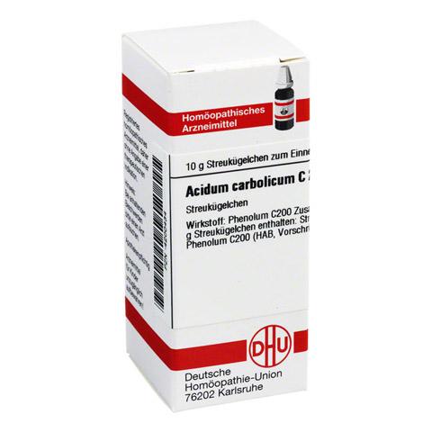 ACIDUM CARBOLICUM C 200 Globuli 10 Gramm N1