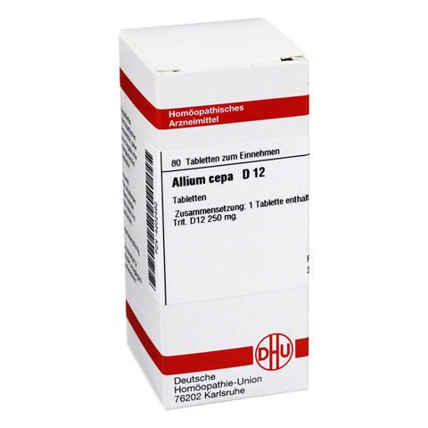 ALLIUM CEPA D 12 Tabletten 80 Stück N1