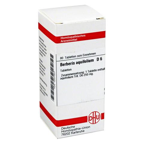BERBERIS AQUIFOLIUM D 6 Tabletten 80 Stück N1