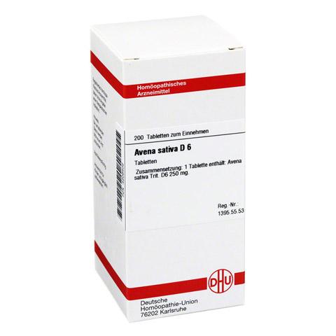 AVENA SATIVA D 6 Tabletten 200 Stück N2