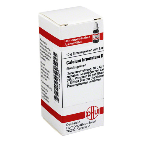 CALCIUM BROMATUM D 6 Globuli 10 Gramm N1