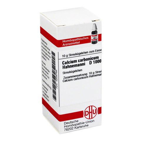 CALCIUM CARBONICUM Hahnemanni D 1000 Globuli 10 Gramm N1