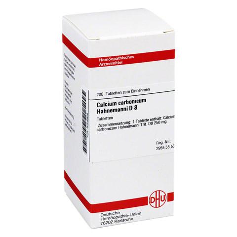 CALCIUM CARBONICUM Hahnemanni D 8 Tabletten 200 Stück N2