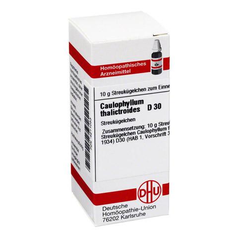 CAULOPHYLLUM THALICTROIDES D 30 Globuli 10 Gramm N1