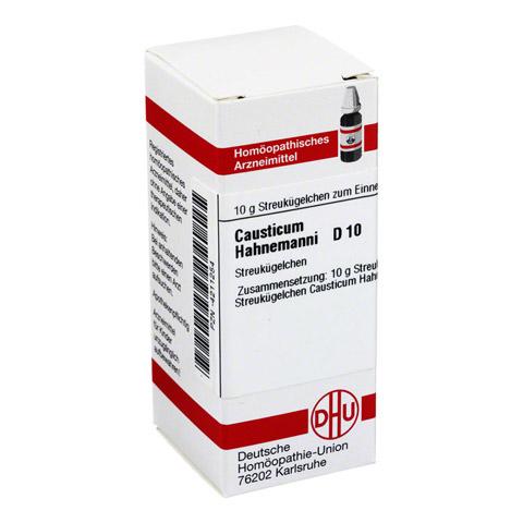 CAUSTICUM HAHNEMANNI D 10 Globuli 10 Gramm N1