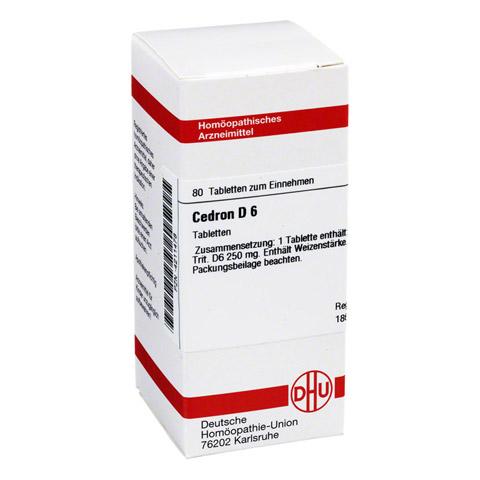 CEDRON D 6 Tabletten 80 Stück N1