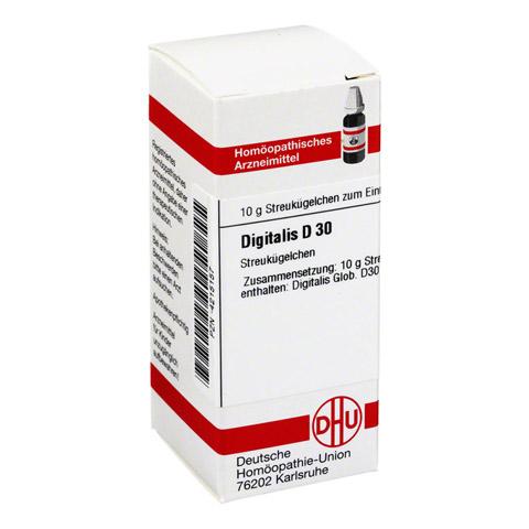 DIGITALIS D 30 Globuli 10 Gramm N1