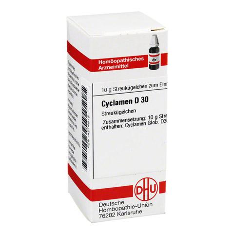 CYCLAMEN D 30 Globuli 10 Gramm N1