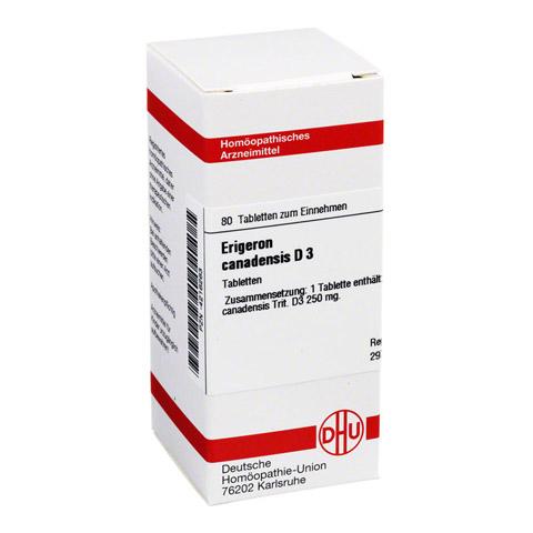 ERIGERON CANADENSIS D 3 Tabletten 80 Stück N1